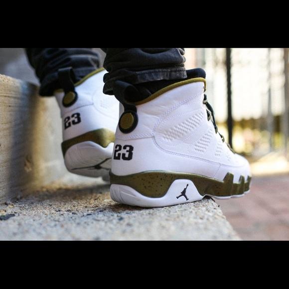 e6c763a7e3d134 Nike Air Jordan 9 IX Retro Statue Militia Green
